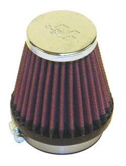 K&N : Luchtfilter universeel verchroomd - RC-2330