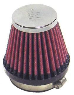 K&N : Filtre à air universel chromé - RC-2340