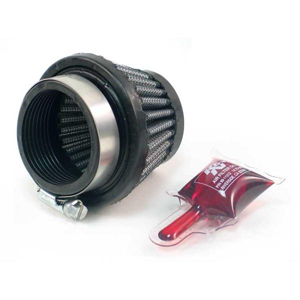K&N Luchtfilter universeel verchroomd RC-2550