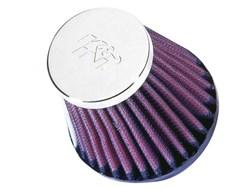 K&N : Filtre à air universel chromé - RC-2580