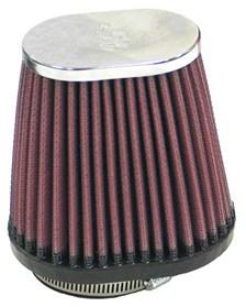 K&N Luchtfilter universeel verchroomd RC-2890