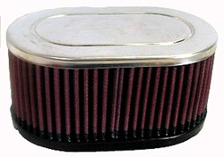 K&N : Filtre à air universel chromé - RC-3510