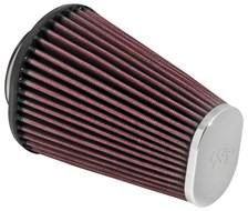 K&N Luchtfilter universeel verchroomd RC-3680