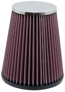 K&N Luchtfilter universeel verchroomd RC-4160