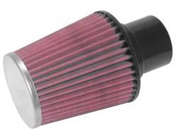 K&N : Luchtfilter universeel verchroomd - RC-5157