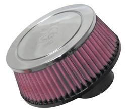K&N : Luchtfilter universeel verchroomd - RC-70021
