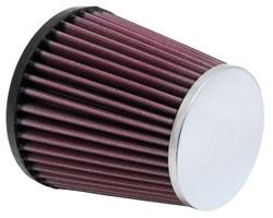 K&N : Filtre à air universel chromé - RC-9380