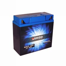 SHIDO Batterie Lithium-Ion 51913 Lithium-Ion