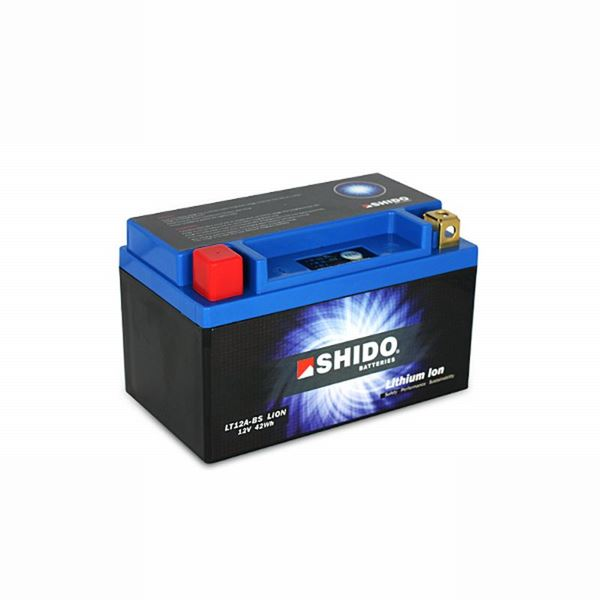 SHIDO Lithium-Ion batterij LT12A-BS