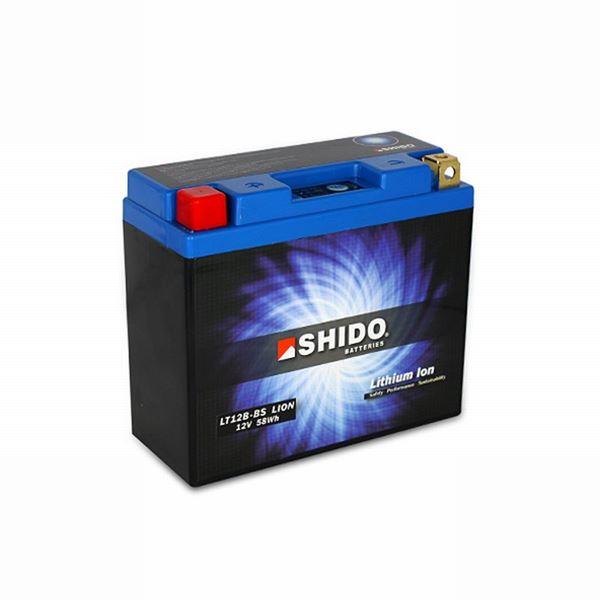 SHIDO Lithium-Ion batterij LT12B-BS