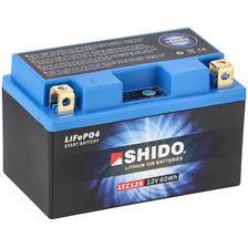 SHIDO Lithium-Ion batterij LTZ12S