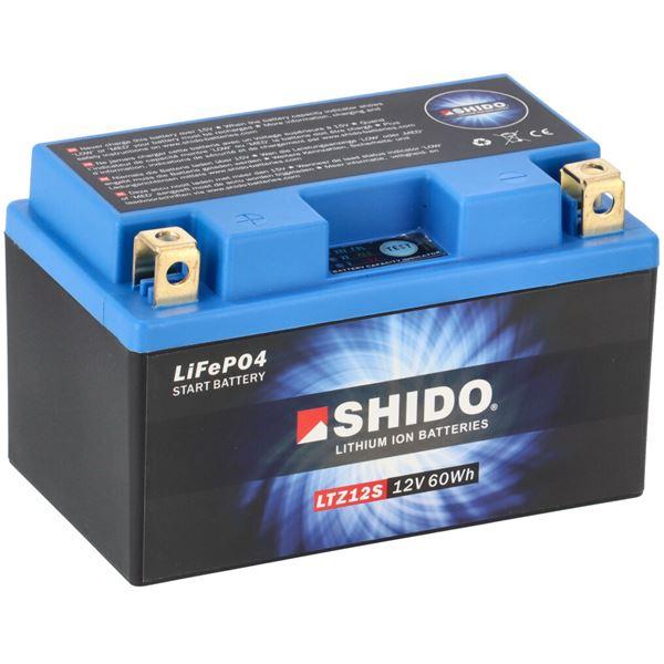 SHIDO Batterie Lithium-Ion LTZ12S