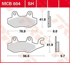 TRW Plaquettes de frein SV/SH MCB604SH