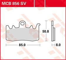 SV/SH Remblokken MCB856SV