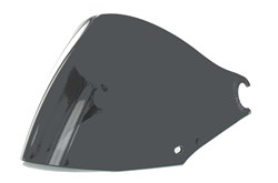 SHARK : Vizier VZ110 - Donker vizier Total vision