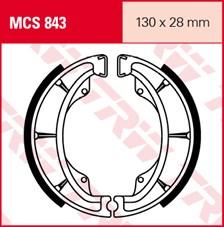 TRW Mâchoires de freins MCS843