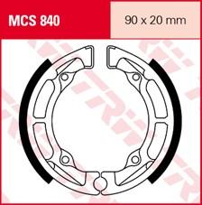 TRW Mâchoires de freins MCS840
