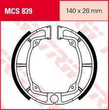 TRW Mâchoires de freins MCS839