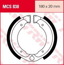 TRW Mâchoires de freins MCS838