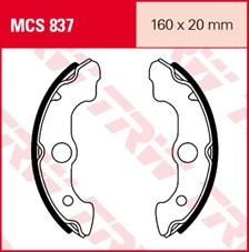 TRW Mâchoires de freins MCS837