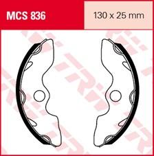 TRW Mâchoires de freins MCS836