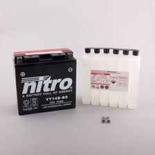 NITRO Gesloten batterij met zuurpakket YT14B-BS