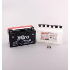 NITRO Gesloten batterij met zuurpakket YT7B-BS