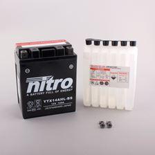 NITRO Batterie sans entretien haute performance YTX14AHL-BS