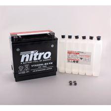 NITRO Onderhoudsvrije batterij high power YTX20HL-BS