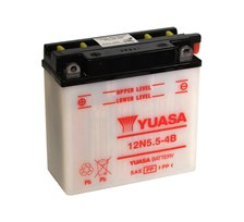 YUASA Conventionele batterij 12N5.5-4B