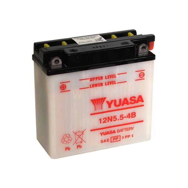 YUASA Batterie conventionnelle 12N5.5-4B