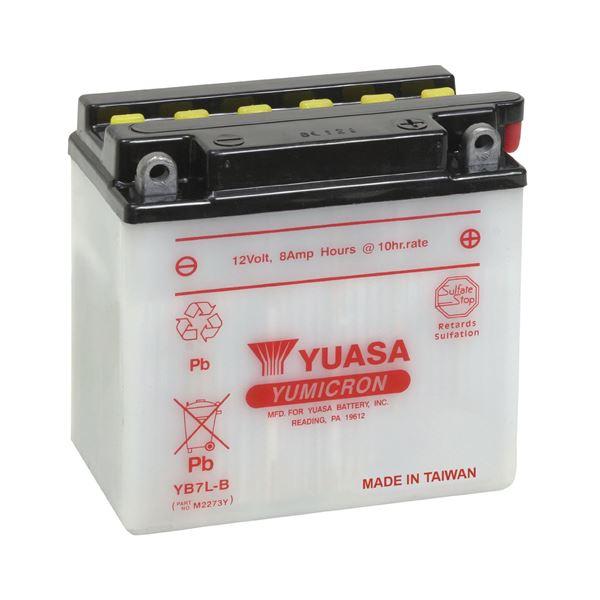 YUASA Batterie Yumicron YB7L-B