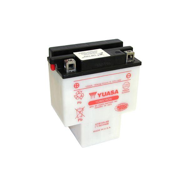 YUASA Batterie Yumicron HYB16A-AB