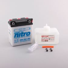 NITRO Batterie 6V conventionnelle avec flacon d'acide 6N6-3B-1