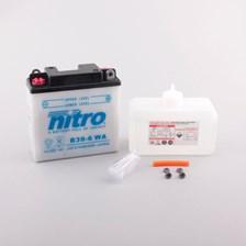 Conventionele batterij met fles zuur B39-6