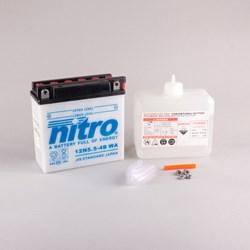 NITRO Conventionele batterij met fles zuur