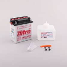 NITRO Batterie conv. anti sulfation avec flacon d'acide YB3L-A