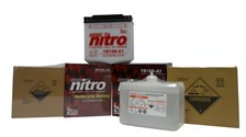 NITRO Batterie conv. anti sulfation avec flacon d'acide YB5L