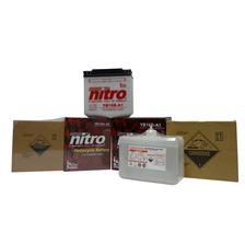 NITRO Batterie conv. anti sulfation avec flacon d'acide YB5L