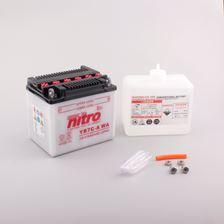 NITRO Conventionele batterij antisulfatie met fles zuur YB7C-A