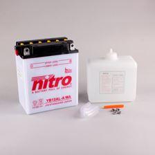 NITRO Conventionele batterij antisulfatie met fles zuur YB12AL-A