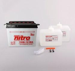 NITRO Batterie conv. anti sulfation avec flacon d'acide