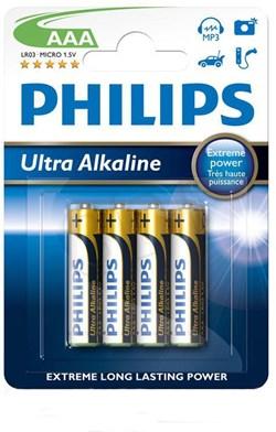 PHILIPS : LR03/AAA Ultra Alkaline B4 - LR03E4B