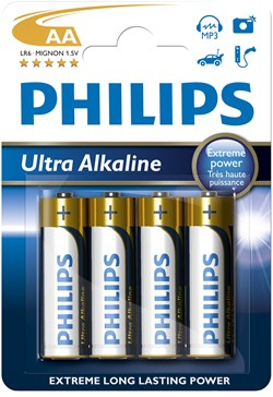 PHILIPS LR6/ AA Ultra Alkaline B4