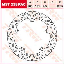 TRW MST disque fixe avec RAC design MST238RAC