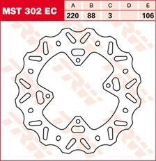 TRW EC disque de frein offroad MST302EC