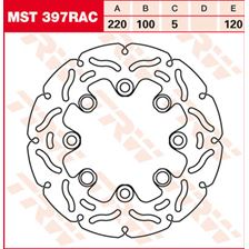 TRW MST vaste remschijf RAC design MST397RAC
