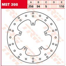 TRW MST vaste remschijf MST398