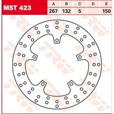 TRW MST vaste remschijf MST423