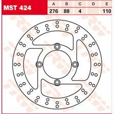 TRW MST disque de frein fixe MST424